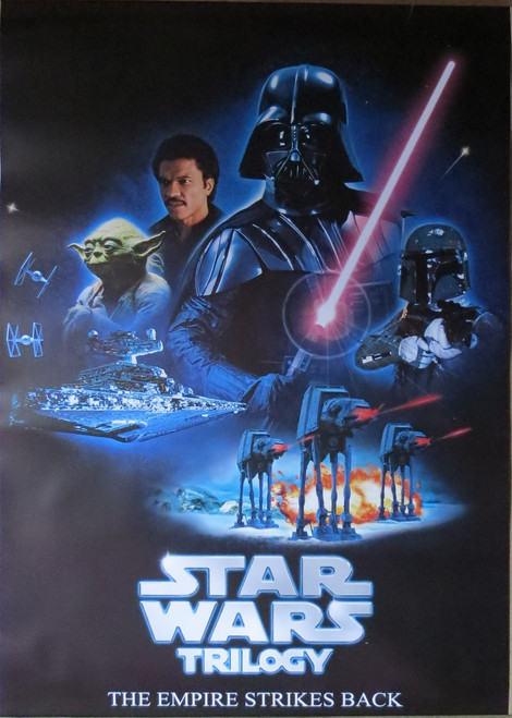 Star Wars: Episode V-The Empire Strikes Back-Trilogy- Poster-Laminated Available-100cm x 70cm-Brand New