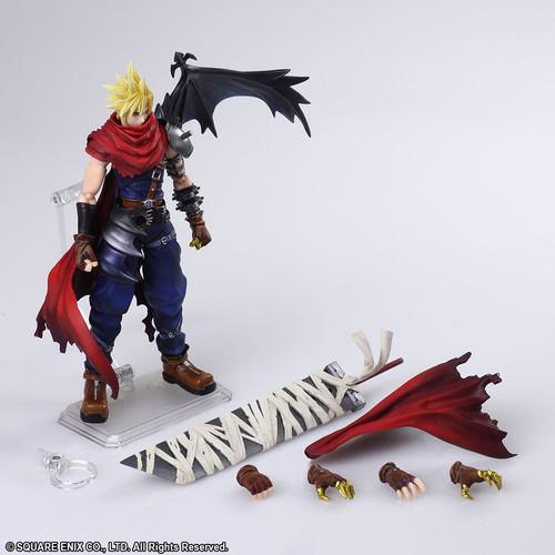 Final Fantasy VII - Cloud Strife Bring Arts Action Figure-SQU82493