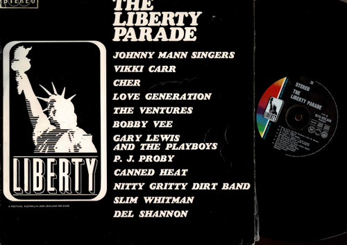 Various - The Liberty Parade-VINYL LP-USED-Aussie press