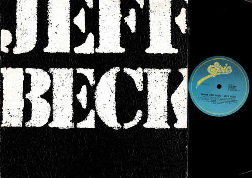 Jeff Beck-There & Back-VINYL LP-USED-Aussie press