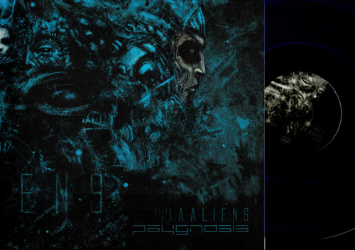 Psygnosis- AAliens - LP + CD-Blue Vinyl-USED-NM-Black Metal