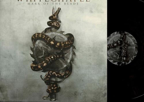 Whitechapel-Mark Of The Blade-VINYL LP (Clear)-USED-NM-Black Metal