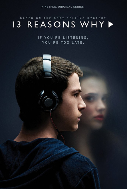 13 Reasons Why-Too Late Poster-Laminated available-90cm x 60cm