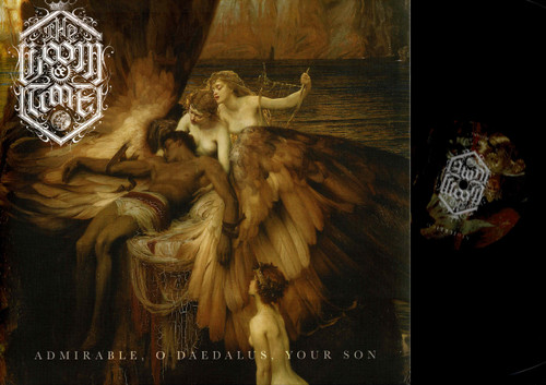 The Loom Of Time-NihilReich / Admirable, O Daedalus, Your Son-VINYL LP-USED-NM-Black Metal