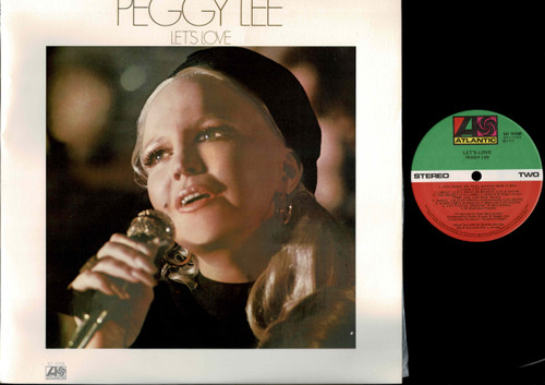 Peggy Lee - Let's Love-VINYL LP-USED-Aussie press