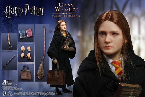 "Harry Potter - Ginny Weasley 12"" 1:6 Scale Action Figure-SATSA0063-STAR ACE TOYS"
