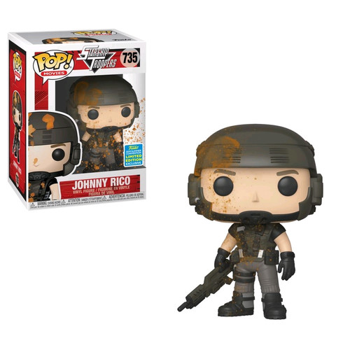 Starship Troopers - Johnny Rico Blood-Splattered SDCC 2019 US Exclusive Pop! Vinyl [RS]-FUN40154-FUNKO