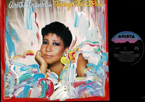 Aretha Franklin-Through The Storm--VINYL LP-USED-Aussie press