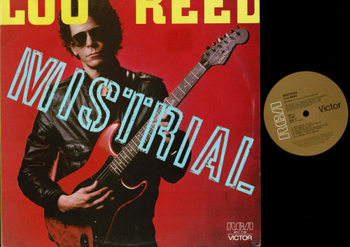Lou Reed-Mistrial--VINYL LP-USED-Aussie press