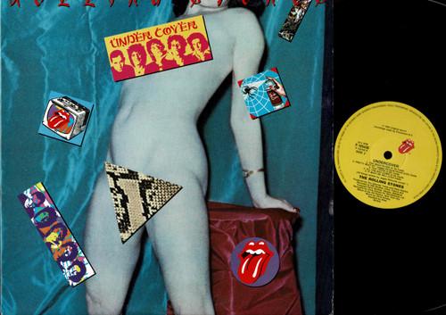The Rolling Stones-Undercover--VINYL LP-USED-Aussie press