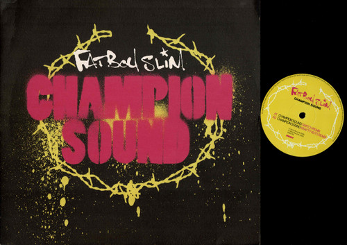 Fatboy Slim-Champion Sound--VINYL LP-USED-UK press