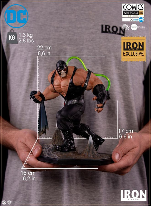 Batman - Bane 1:10 Scale Statue Exclusive-IRO73494-IRON STUDIOS