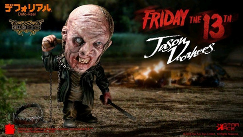 Friday the 13th - Jason 2009 6 inch Soft Vinyl Figure-SATSA6008-STAR ACE TOYS