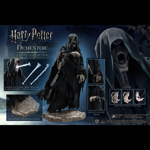 "Harry Potter - Dementor Deluxe 12"" 1:6 Scale Action Figure-SATSA0066-STAR ACE TOYS"