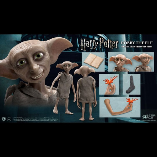 Harry Potter - Dobby the Elf 1:8 Scale Action Figure-SATSA8010-STAR ACE TOYS