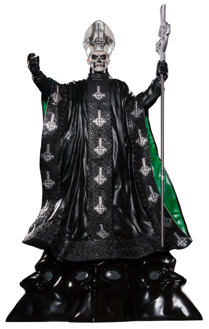 Ghost - Papa Emeritus II 1:6 Scale Limited Edition Statue-IKO1101-IKON COLLECTABLES