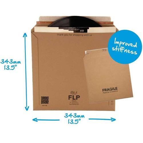 25 x LP Mailers 12″ Vinyl Record Strong Rigid Cardboard Postal- Original Lil packaging  343 x 343 mm