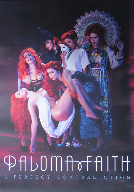 Paloma Faith -A Perfect Contradiction  - Poster-Laminated Available-90cm x 60cm-Brand New