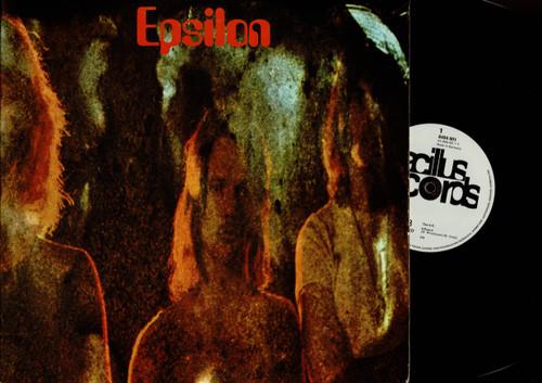 Epsilon -Epsilon-VINYL LP-USED-Original German press
