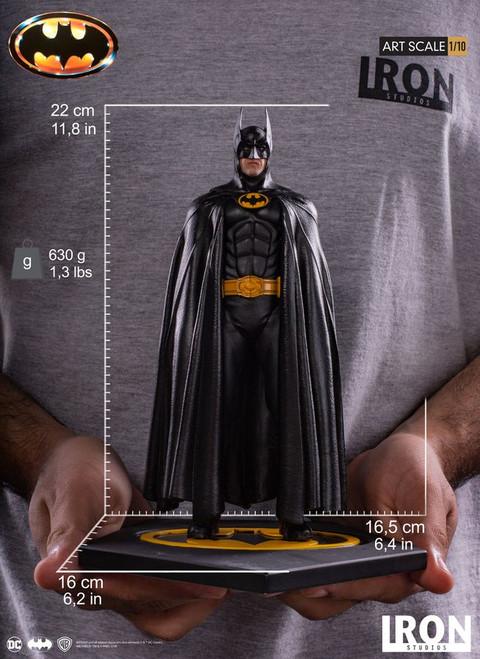 Batman 1989 - Batman 1:10 Scale Statue-IRO02641-IRON STUDIOS