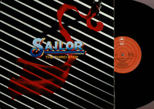 Sailor-The Third Step-VINYL LP-USED-Aussie press