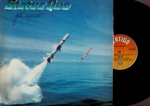Status Quo-Just Supposin'...-VINYL LP-USED-UK press