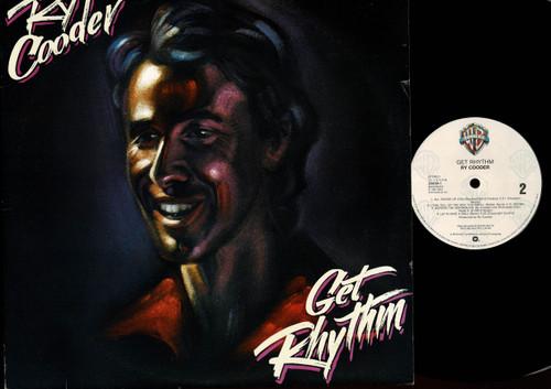 Ry Cooder-Get Rhythm-VINYL LP-USED-Aussie press