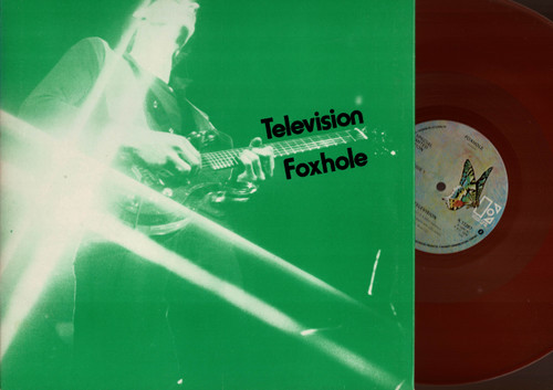 "Television-Foxhole-VINYL 12"" (Red Vinyl)-USED-UK press"