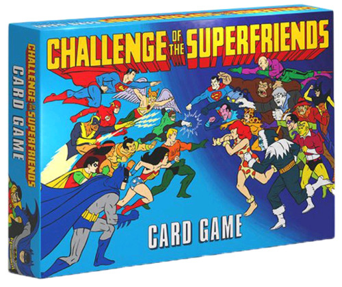 DC Comics - Challenge of the Superfriends Card Game-CRY27718-CRYPTOZOIC ENTERTAINMENT