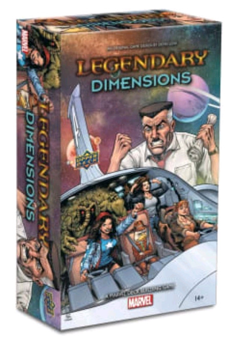 Marvel Legendary - Deck-Building Game Dimensions Expansion-UPP91753-UPPER DECK