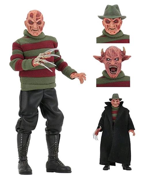 "A Nightmare on Elm Street - 8"" New Nightmare Freddy Action Figure-NEC39977-NECA"