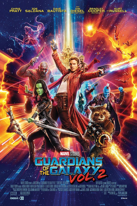 Guardians Of The Galaxy Movie sheet Poster-Laminated available -90cm x 60cm