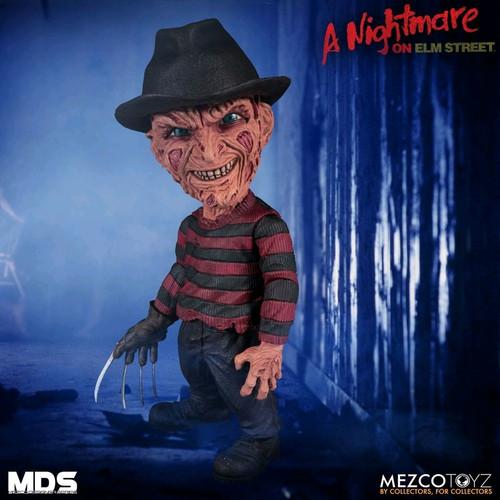 A Nightmare on Elm Street 3: Dream Warriors - Freddy Krueger Designer Figure-MEZ25900-MEZCO TOYZ