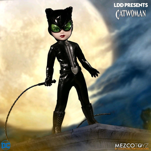 LDD Presents - Catwoman (comic)-MEZ99385-MEZCO TOYZ