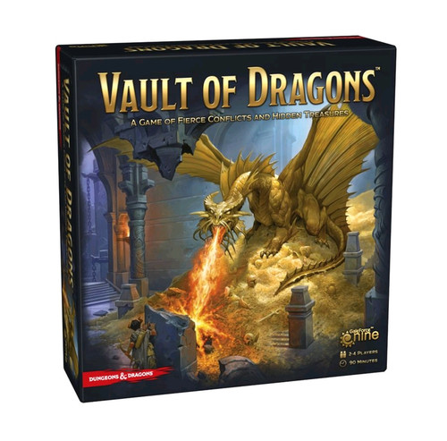 Dungeons & Dragons - Vault of Dragons Board Game-GF974002-GALE FORCE 9