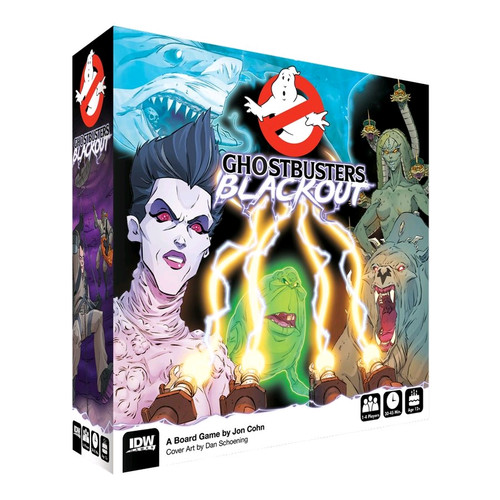 Ghostbusters - Blackout Board Game-IDW01678-IDW GAMES
