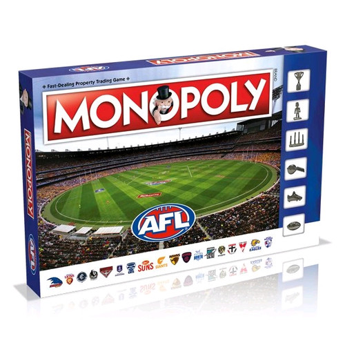 Monopoly - AFL Edition-WIN003241-WINNING MOVES