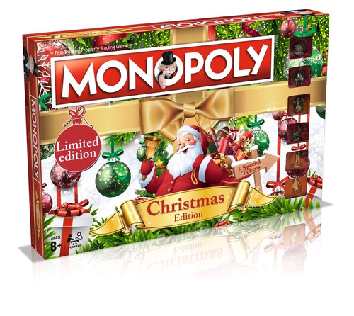 Monopoly - Christmas Edition-WIN024358-WINNING MOVES
