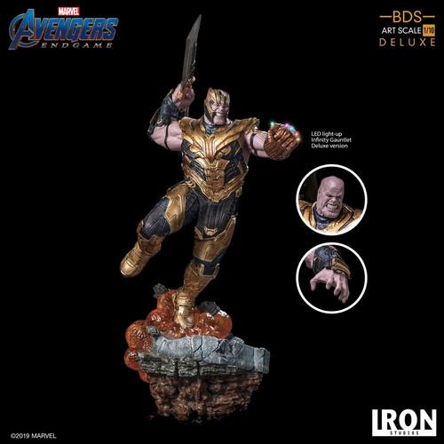 Avengers 4: Endgame - Thanos Deluxe 1:10 Scale Statue-IRO02986-IRON STUDIOS