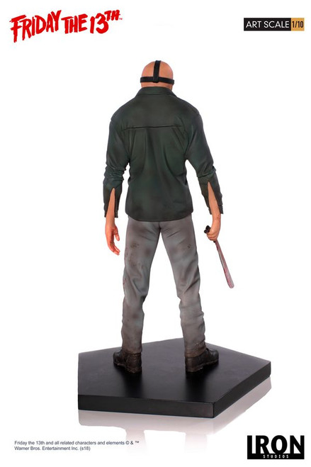 Friday the 13th - Jason Voorhees 1:10 Scale Statue-IRO02658-IRON STUDIOS