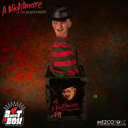 A Nightmare on Elm Street - Freddy Burst-A-Box-MEZ25225-MEZCO TOYZ