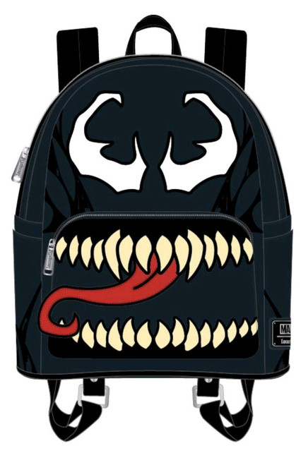 Venom - Venom Open Mouth Mini Backpack-LOUMVBK0086-LOUNGEFLY
