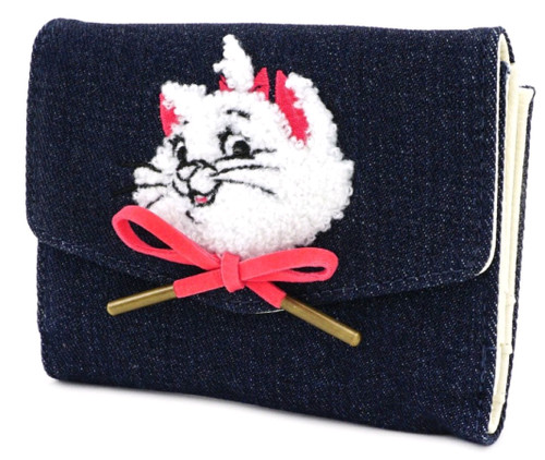 Aristocats - Marie Denim Purse-LOUWDWA1061-LOUNGEFLY