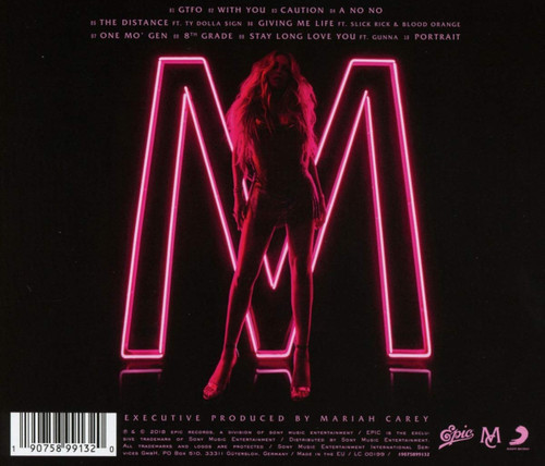 MARIAH CAREY - CAUTION CD-Brand New/Still sealed