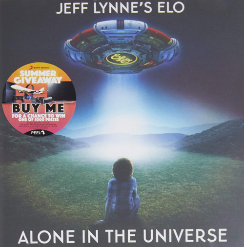 JEFF LYNNE'S ELO - ALONE IN THE UNIVERSE CD-Brand New/Still sealed