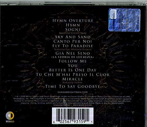 Sarah Brightman - Hymn CD-Brand New/Still sealed