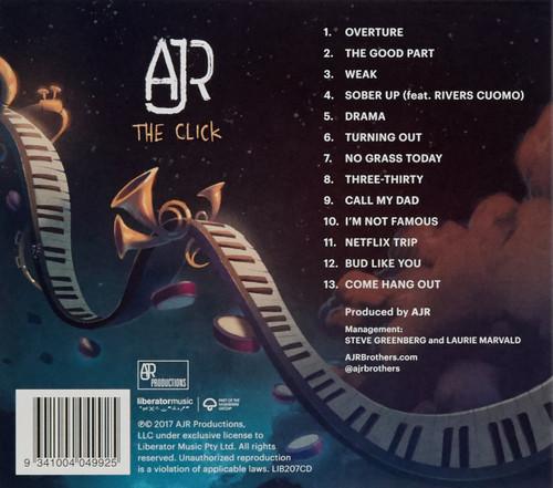 AJR-The Click CD-Brand New/Still sealed