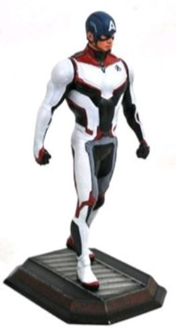Avengers 4: Endgame - Captain America Team Suit Gallery Statue-DSTMAY189407-DIAMOND SELECT TOYS