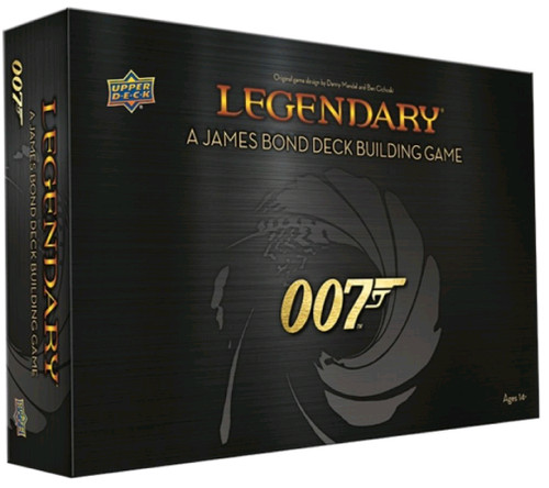 Legendary - 007 James Bond Deck-Building-Game-UPP91752-UPPER DECK