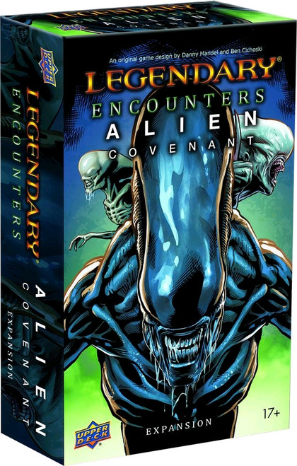 Legendary Encounters - Alien Covenant Deck-Building Game Expansion-UPP91640-UPPER DECK
